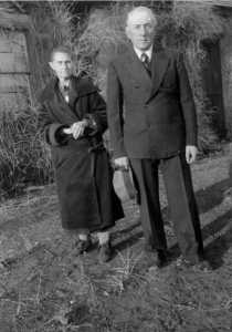 Mary Melling Stone with son John Stone; photo c. 1940.