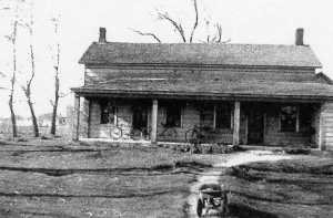 Home of William B. Hutchens/ Vic Reno in about 1930.