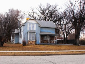 TODAY: George Romrell house still stands at 253 4th St. east of the Romrell Park; photo Feb. 2011.