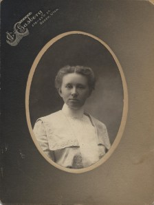 Christine Petersen, c. 1900; photo courtesy Cody Nixon.