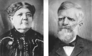 Jane Romrell Pierce and George Pierce