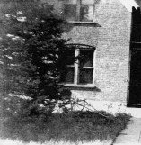 Lynne School #2 stood from 1877-1970s; photo c. 1933.