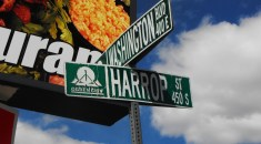 Harrop St. named for Joseph Harrop family.
