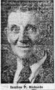 Ianthus P. Richards also served as a conductor on Ogden street cars