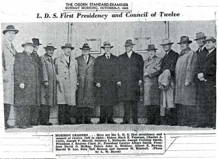 First Presidency in 1945