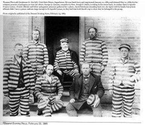 Daniel F. Thomas served similar to these prisoners for polygamy.
